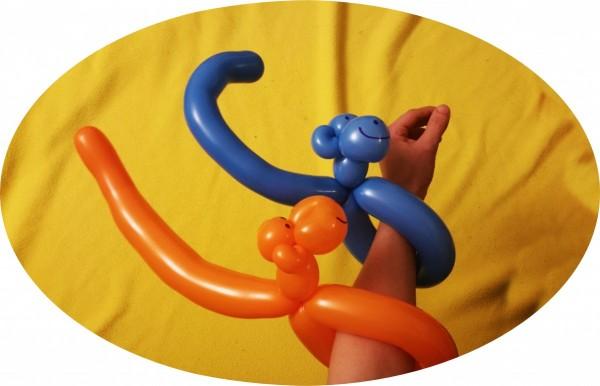 Luftballonmodellage Eventagentur Firesmile