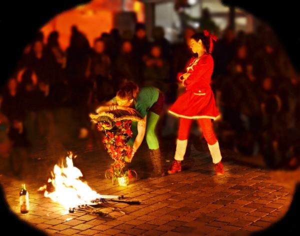 Feuershow, Feuertanz und Feuertheater aus Bayern